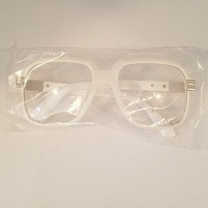 Accessories - White frames clear lens  nEw